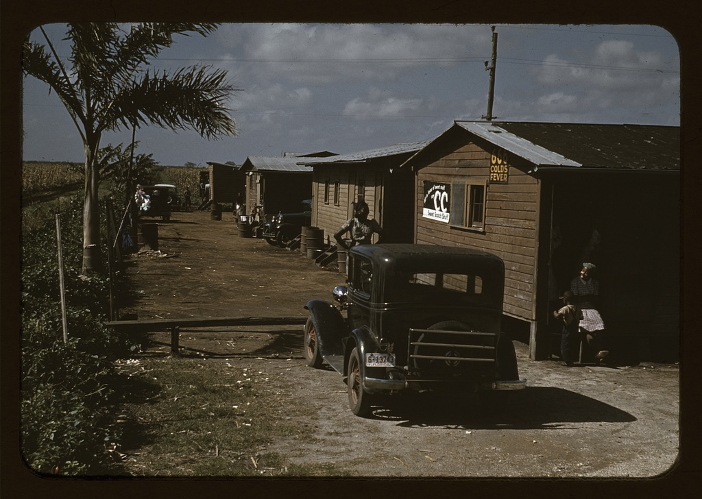 Houses which have been condemned by the Board of Health, but are still occupied by Negro Migratory workers