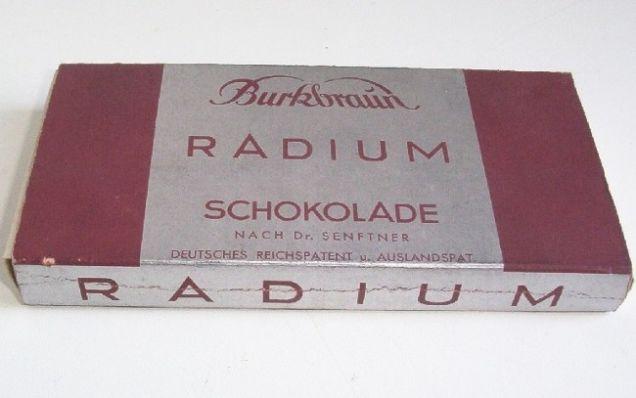 radium-schoko
