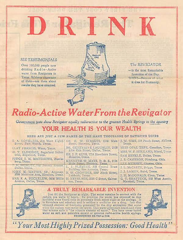 radium-wasser