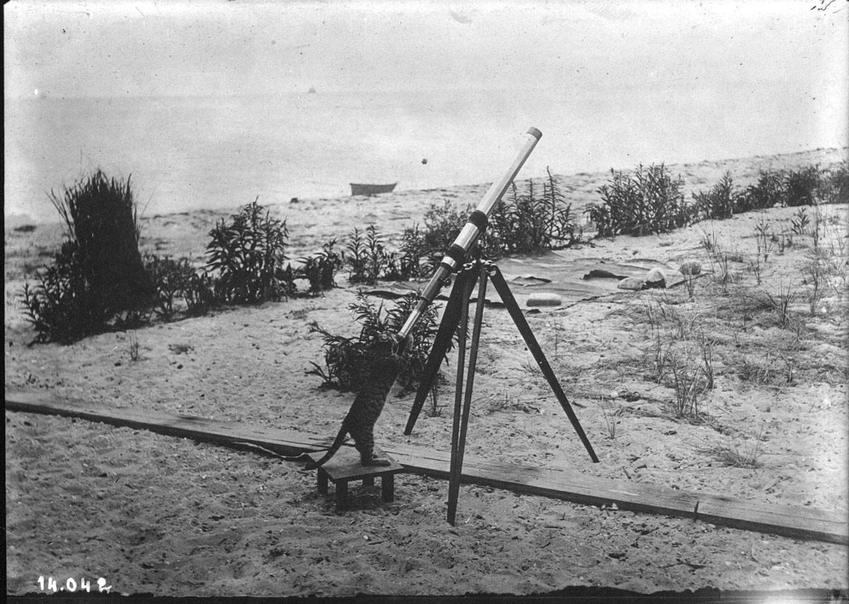 katze-teleskop